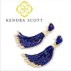 Kendra Scott Blossom Tassel Statement Earrings